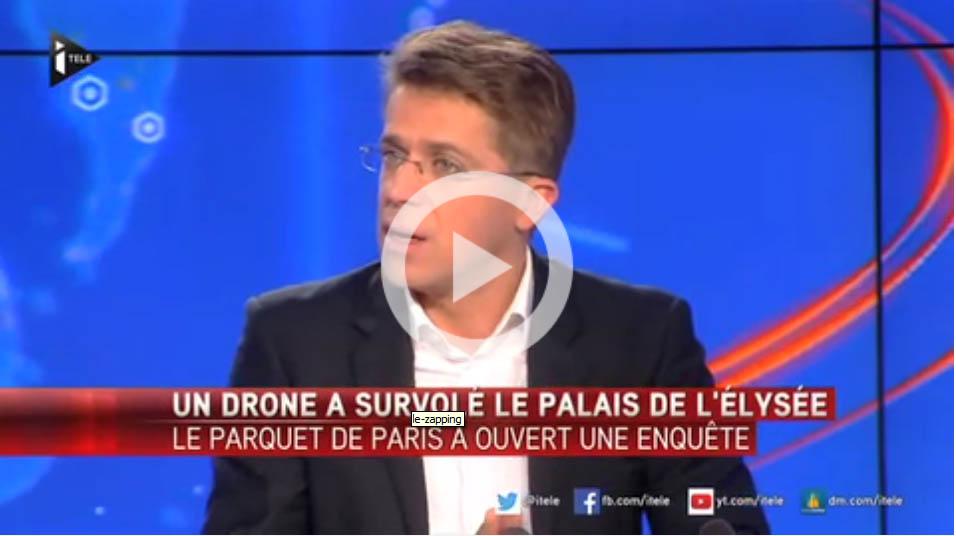 drone palais de lelysee